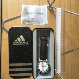 アディダス(adidas)のadidas本革時計(レザーベルト)
