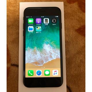 iPhone - 美品 iPhone 7 ブラック 32gb シムフリー