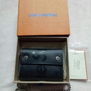 Supreme - sup×lv 大人気  メンズレディース三つ折り財布 黒い新品未使用