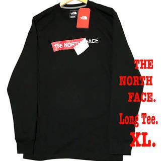 THE NORTH FACE -  XL相当 新品 ノースフェイス ヘビーウェイト ロンT 黒 レア