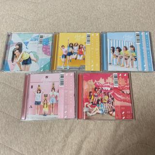 乃木坂46 - 乃木坂46 17thシングル 逃げ水 A・B・C・D・通常盤 5枚セット