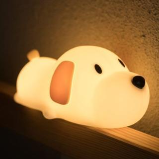 【新品・送料込】LED ナイトライト 夜間ライト USB充電 犬