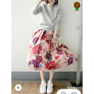 ZARA - 【美品】ZARA 花柄スカート
