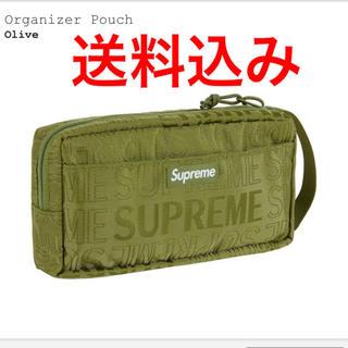 シュプリーム(Supreme)のSupreme  Organizer Pouch オリーブ(ポーチ)