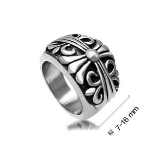 高級品」重みあり、サージカルステンレスクロスキーパーリング (リング(指輪))