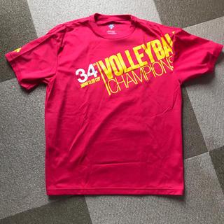 DESCENTE - クラブカップ34th記念Tシャツ xo