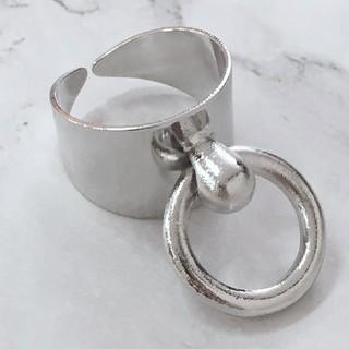 フリーサイズ サークル リング 指輪