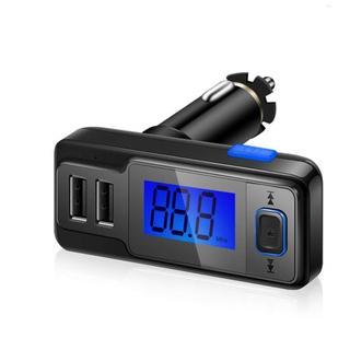 人気!USB急速充電2ポート FMトランスミッター
