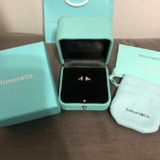 ティファニー(Tiffany & Co.)のTiffany 指輪 ローズゴールド ダイアモンド 新品未使用(リング(指輪))