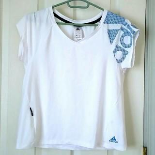 アディダス(adidas)のレディース アディダスTシャツ(Tシャツ(半袖/袖なし))