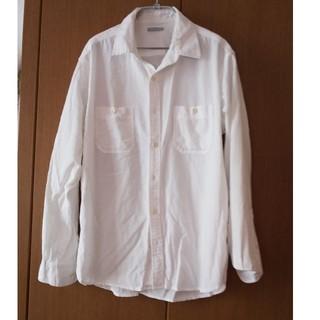 ジーユー(GU)の白シャツ①(シャツ)