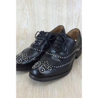 トゥモローランド(TOMORROWLAND)のadolfo carli レースアップシューズ 美品(ローファー/革靴)