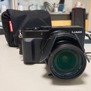Panasonic - LX100 自動開閉キャップ、sdカードなど