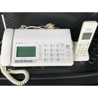 Panasonic - パナソニック FAX電話機 KX-PD304-W