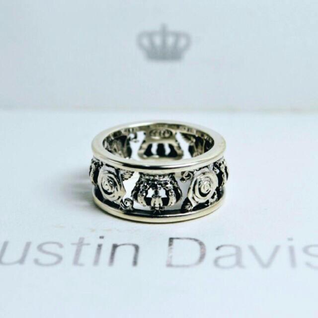 Justin Davis(ジャスティンデイビス)のJustin Davis/リング/美品 レディースのアクセサリー(リング(指輪))の商品写真