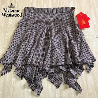 ヴィヴィアンウエストウッド(Vivienne Westwood)の【未使用】ヴィヴィアンウエストウッドRED LABEL♡イレギュラースカート(ミニスカート)