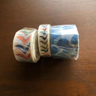 mina perhonen - ミナペルホネン マスキングテープ 3個セット