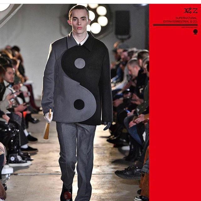 xander zhou インヤンジャケット メンズのジャケット/アウター(ブルゾン)の商品写真