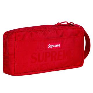 シュプリーム(Supreme)のSupreme 19SS Organizer Pouch Red(ポーチ)