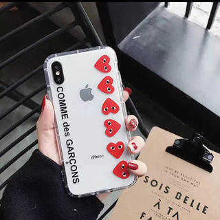 COMME des GARCONS - クリア iPhoneケース