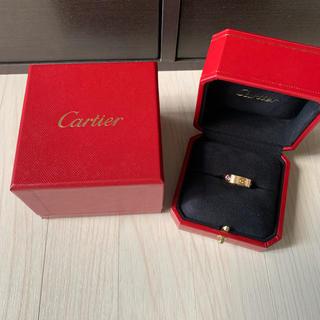 カルティエ(Cartier)のカルティエ ラブリング マルチカラー ピンクゴールド(リング(指輪))