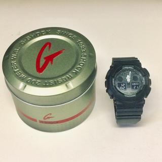 G-SHOCK - 【美品】G-SHOCK GA-100-1A1 腕時計 ベッカム着用モデル