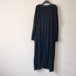 しまむら - Avail  しまむら black マキシカーディガン 羽織り