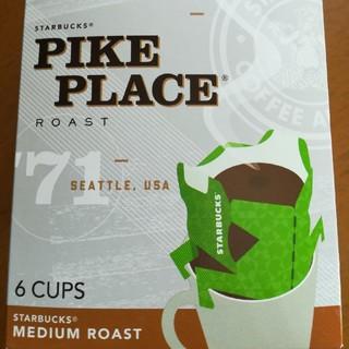 スターバックスコーヒー(Starbucks Coffee)のスタバ オリガミ ドリップコーヒー×6(コーヒー)