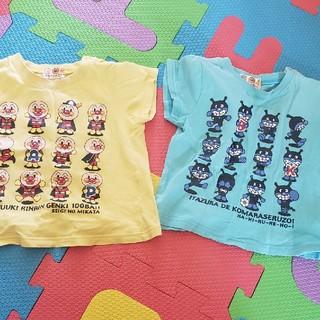アンパンマン - アンパンマン バイキンマン Tシャツ 95 夏服 キッズ 保育園着