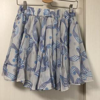 ジェーンマープル(JaneMarple)のJaneMarple リボンスカート(ひざ丈スカート)