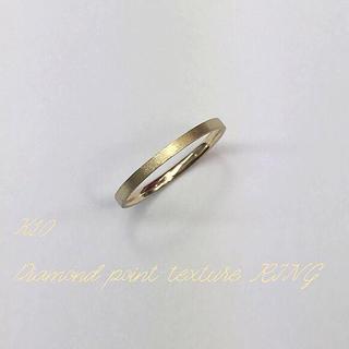K10リング ダイヤモンドポイント加工(リング(指輪))