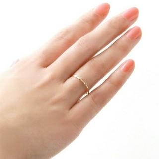 アガット(agete)のK10 URBAN RESEARCH  DOORS  ダイヤモンドリング(リング(指輪))
