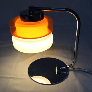 ★昭和レトロ★デスク用ライト 40ワット 予備電球付き♪