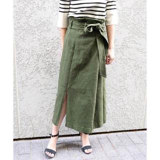 ノーブル(Noble)の2018SS Nobleブッチャーオーバータックロングタイトスカート(ロングスカート)