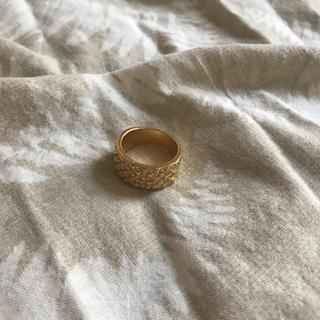 ザラ(ZARA)のアメリカ購入 ゴールド リング(リング(指輪))