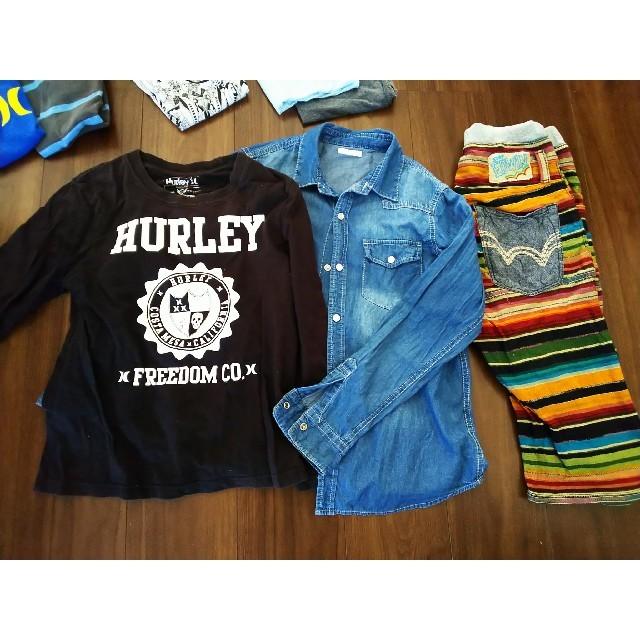 Hurley(ハーレー)のHurleyなど★キッズ 140  150 まとめ売り キッズ/ベビー/マタニティのキッズ服 男の子用(90cm~)(Tシャツ/カットソー)の商品写真