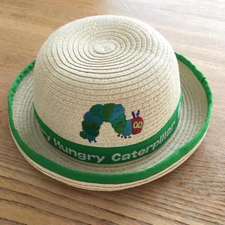 西松屋 - はらぺこあおむし 麦わら帽子 50㎝