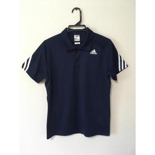 アディダス(adidas)のadidas Tシャツ 襟付き(Tシャツ(半袖/袖なし))