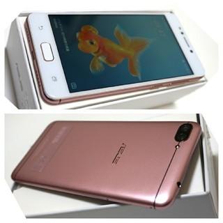 ASUS - SIMフリー 美品 ZenFone4 Max (ZC520KL) ピンクゴールド