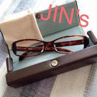 ムジルシリョウヒン(MUJI (無印良品))のJIN's度なしメガネ(サングラス/メガネ)
