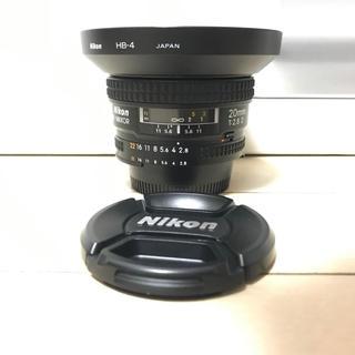 Nikon - 美品 NIKON AF 20mm f2.8D