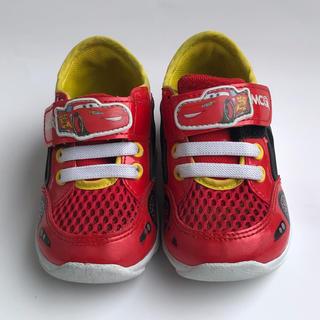 Disney - カーズ マックィーン メッシュシューズ 15 赤靴