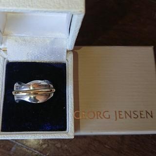 ジョージジェンセン(Georg Jensen)のジョージジェンセン シルバー/ゴールド sv925(リング(指輪))