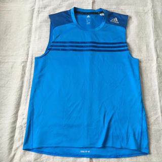 アディダス(adidas)のアディダス  ランニングTシャツ(ウェア)