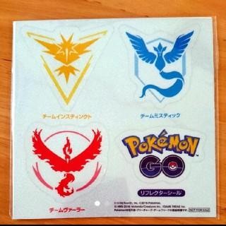ポケモン(ポケモン)のPokémon GO*非売品 リフレクターシール(その他)