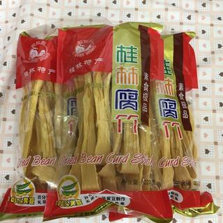 3個  dried Beancurd Sticks乾燥腐竹(ゆば)