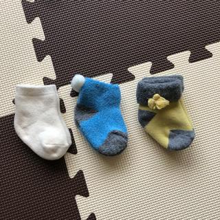 ニシマツヤ(西松屋)の新生児 ベビー 靴下(靴下/タイツ)