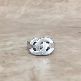 シャネル(CHANEL)の正規品 シャネル 指輪 シルバー ココマーク 銀 ロゴ リング ムーブ スイング(リング(指輪))