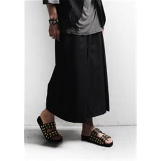 袴パンツ 七分 和装 和服 着物 浴衣 メンズ
