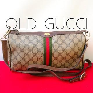 ad1e73eb3306 グッチ(Gucci)の希少レア!オールドグッチ 2way ビンテージショルダーバッグ クラッチバッグ